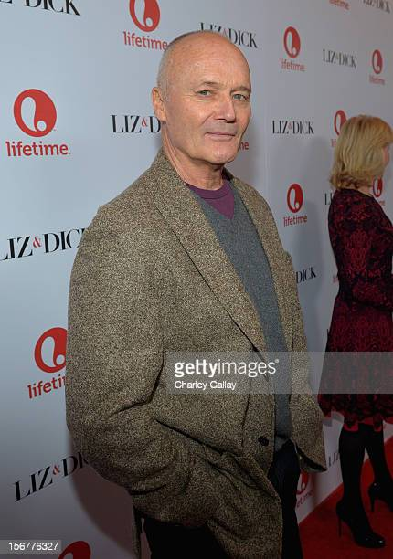 """Actor Creed Bratton attends a private dinner for the Lifetime premier of """"Liz & Dick"""" at Beverly Hills Hotel on November 20, 2012 in Beverly Hills,..."""