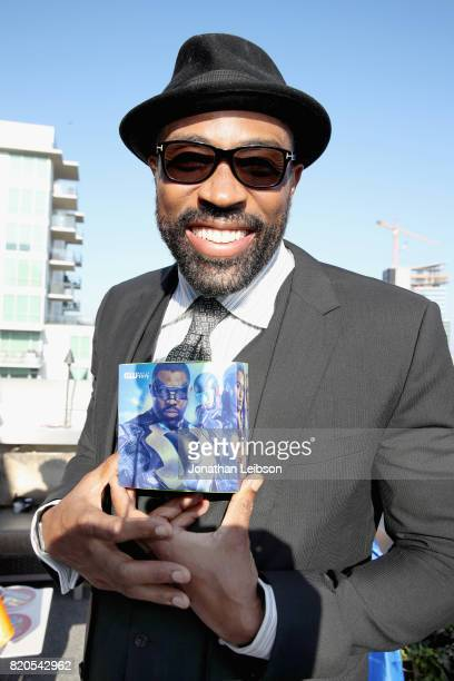 Actor Cress Williams at BuzzFeed The CW Present SRSLY The Best Damn Superhero Party on July 21 2017 in San Diego California