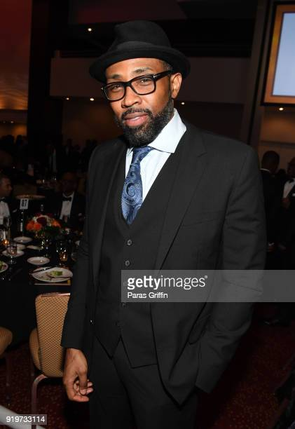 Actor Cress Williams attends Morehouse College 30th Annual A Candle In The Dark Gala at The Hyatt Regency Atlanta on February 17 2018 in Atlanta...