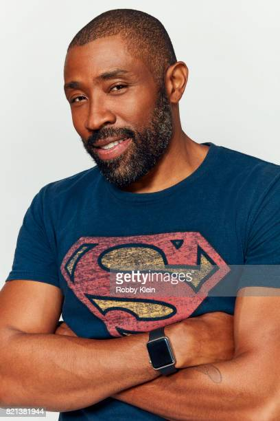 Actor Cress Williams from CW's 'Black Lightning' poses for a portrait during ComicCon 2017 at Hard Rock Hotel San Diego on July 21 2017 in San Diego...
