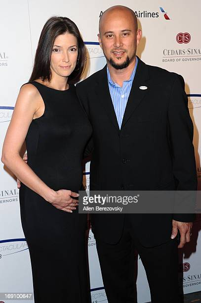 Actor Cris Judd and Kelly A Wolfe arrive at the Sports Spectacular 28th Anniversary Gala at the Hyatt Regency Century Plaza on May 19 2013 in Century...