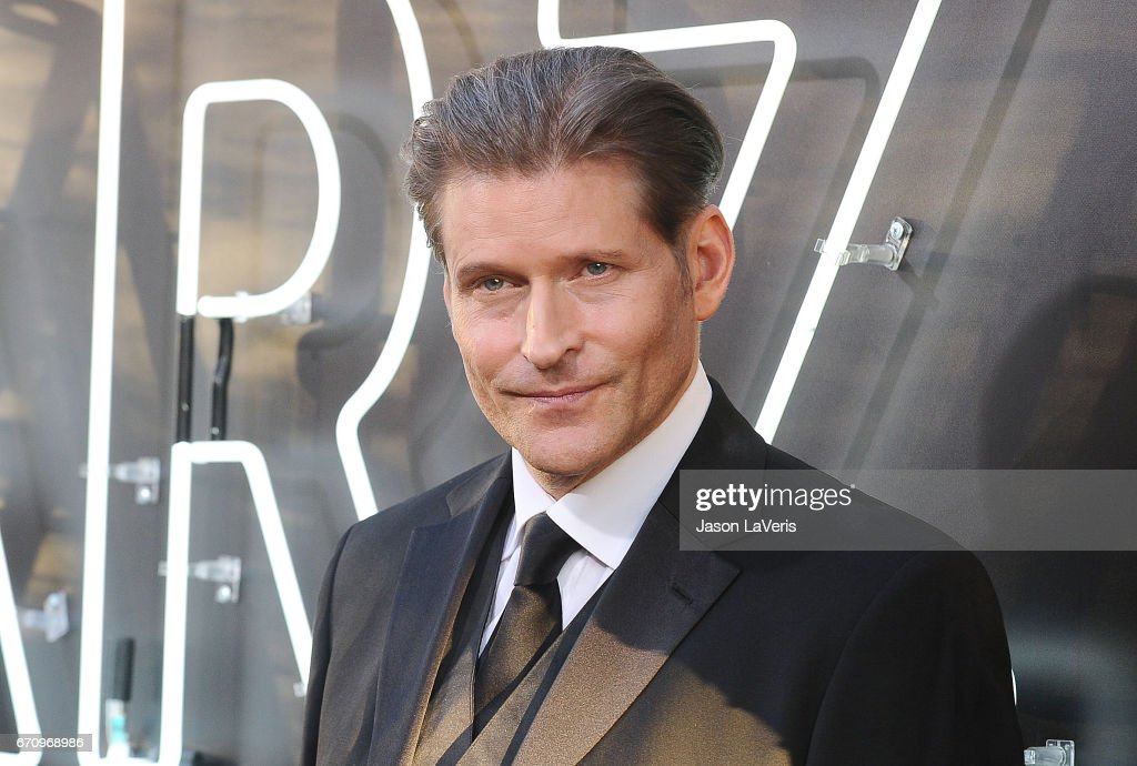 Actor Crispin Glover attends the premiere of 'American Gods' at ArcLight Cinemas Cinerama Dome on April 20, 2017 in Hollywood, California.