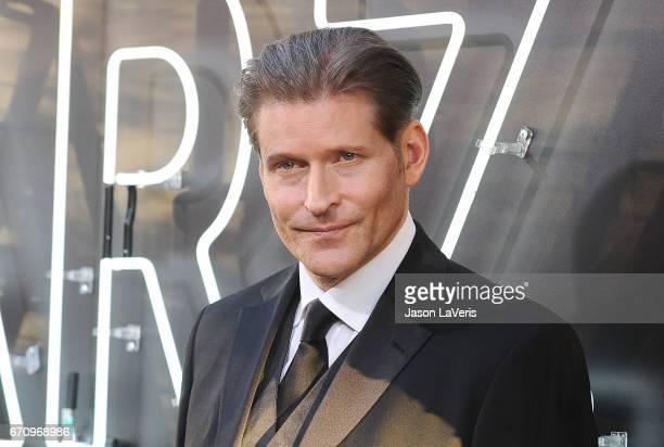 """Actor Crispin Glover attends the premiere of """"American Gods"""" at ArcLight Cinemas Cinerama Dome on April 20, 2017 in Hollywood, California."""