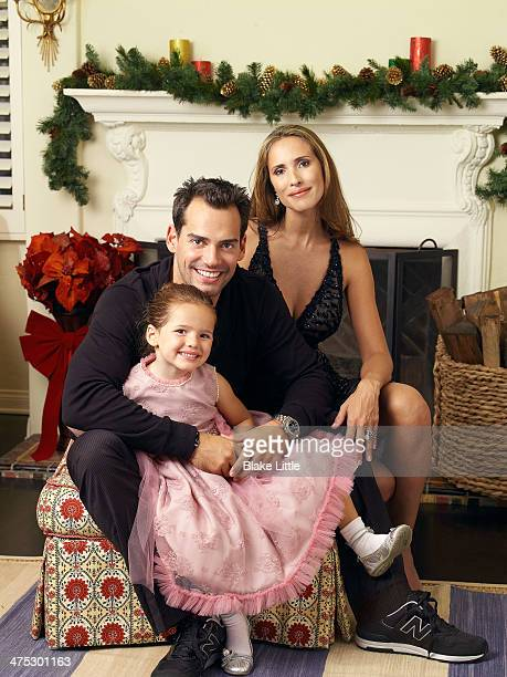 Actor Cristian De La Fuente and his family photographed for People en Espanol in Los Angeles California PUBLISHED IMAGE
