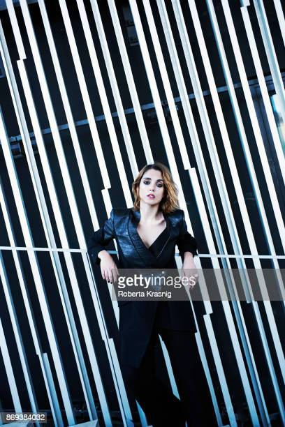 Actor Cristiana Dell'Anna is photographed on July 20 2016 in Rome Italy