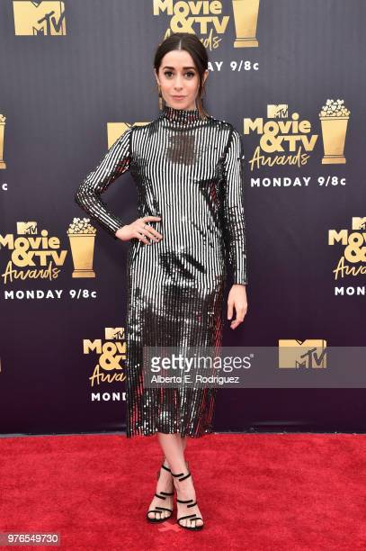Actor Cristin Milioti attends the 2018 MTV Movie And TV Awards at Barker Hangar on June 16 2018 in Santa Monica California