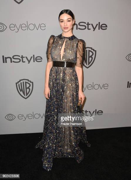 Actor Crystal Reed attends 19th Annual PostGolden Globes Party hosted by Warner Bros Pictures and InStyle at The Beverly Hilton Hotel on January 7...