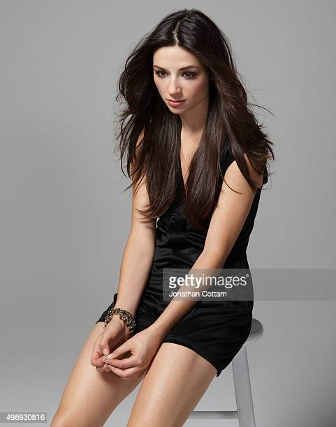 Actor Crystal Reed is photographed on October 8 2010 in Los Angeles United States