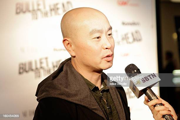 Actor CS Lee attends KoreAm Journal and Audrey Magazine's advanced screening of 'Bullet To The Head' at CGV Cinemas on January 31 2013 in Los Angeles...