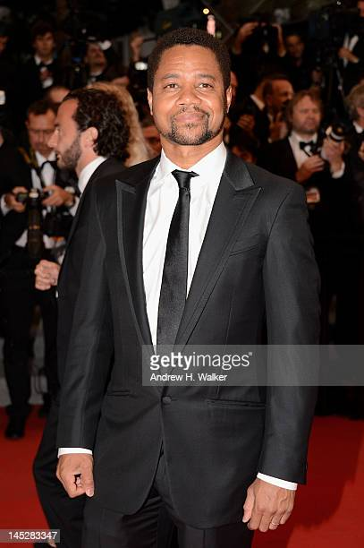 """Actor Cuba Gooding Jnr attends the """"Cosmopolis"""" premiere during the 65th Annual Cannes Film Festival at Palais des Festivals on May 25, 2012 in..."""