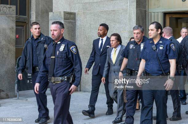 Actor Cuba Gooding Jr. And his attorney Mark Heller leave after his arraignment in New York State Supreme Court in the Manhattan. Cuba Gooding Jr....