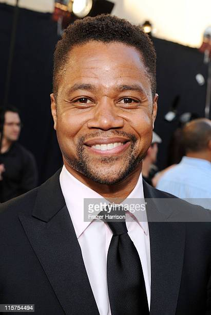Actor Cuba Gooding Jr arrives at the 39th AFI Life Achievement Award honoring Morgan Freeman held at Sony Pictures Studios on June 9 2011 in Culver...
