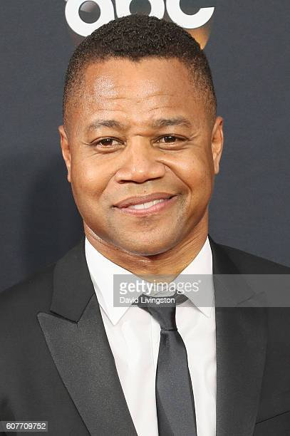 Actor Cuba Gooding Jr arrives at the 68th Annual Primetime Emmy Awards at the Microsoft Theater on September 18 2016 in Los Angeles California