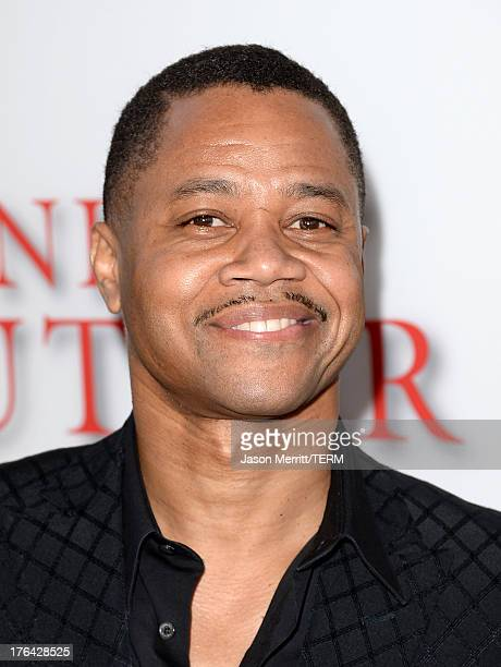 """Actor Cuba Gooding Jr. Arrives at the premiere of The Weinstein Company's """"Lee Daniels' The Butler"""" at Regal Cinemas L.A. Live on August 12, 2013 in..."""