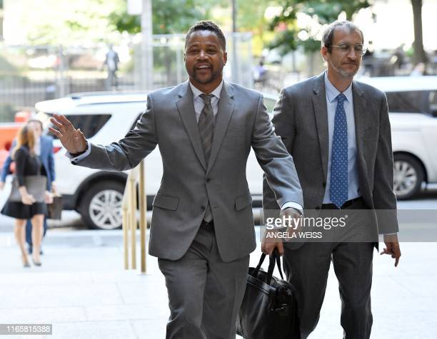 Actor Cuba Gooding Jr arrives for his trial on his sexual assault case on September 3 in New York Gooding will go on trial over accusations he groped...