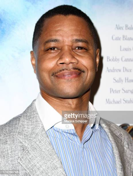Actor Cuba Gooding Jr attends Blue Jasmine New York Premiere at MOMA on July 22 2013 in New York City
