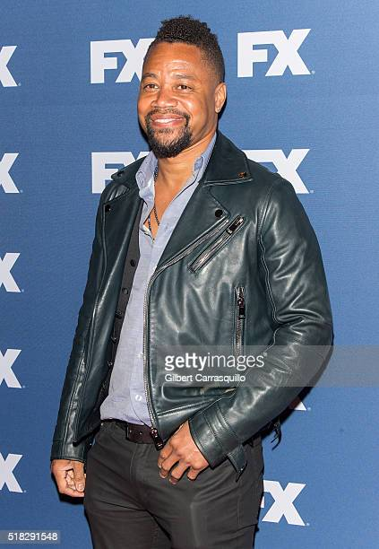 Actor Cuba Gooding Jr attends FX Networks Upfront screening of The People v OJ Simpson American Crime Story at AMC Empire 25 theater on March 30 2016...