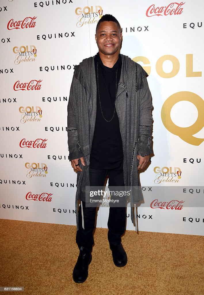Actor Cuba Gooding Jr. attends Life is Good at GOLD MEETS GOLDEN Event at Equinox on January 7, 2017 in Los Angeles, California.