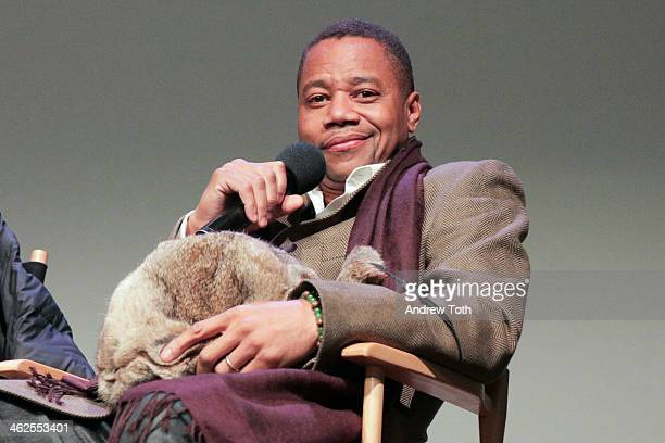 Actor Cuba Gooding Jr attends 'Meet The Filmmakers' at Apple Store Soho on January 13 2014 in New York City