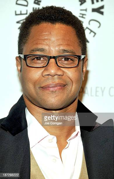 """Actor Cuba Gooding Jr. Attends PALEYAFTERDARK: """"Red Tails"""" at The Paley Center for Media on January 18, 2012 in New York City."""