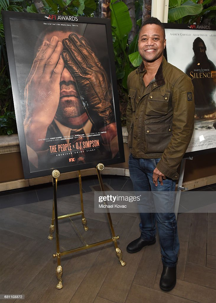 Actor Cuba Gooding Jr Attends The 17th Annual AFI Awards At Four Seasons  Los Angeles At