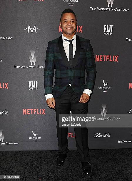 Actor Cuba Gooding Jr attends the 2017 Weinstein Company and Netflix Golden Globes after party on January 8 2017 in Los Angeles California