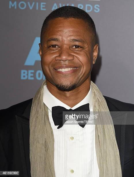 Actor Cuba Gooding Jr. Attends the 20th annual Critics' Choice Movie Awards at the Hollywood Palladium on January 15, 2015 in Los Angeles, California.