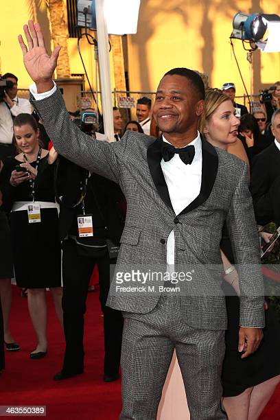 Actor Cuba Gooding Jr attends the 20th Annual Screen Actors Guild Awards at The Shrine Auditorium on January 18 2014 in Los Angeles California