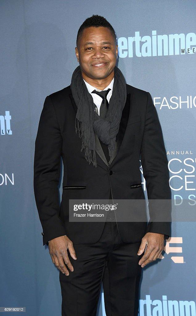 Actor Cuba Gooding Jr. attends The 22nd Annual Critics' Choice Awards at Barker Hangar on December 11, 2016 in Santa Monica, California.