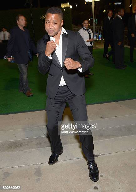 Actor Cuba Gooding Jr. Attends the 68th Annual Primetime Emmy Awards Governors Ball at Microsoft Theater on September 18, 2016 in Los Angeles,...