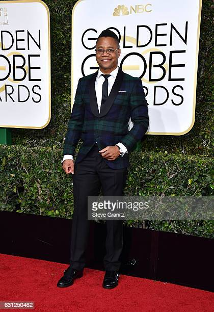 Actor Cuba Gooding Jr attends the 74th Annual Golden Globe Awards at The Beverly Hilton Hotel on January 8 2017 in Beverly Hills California