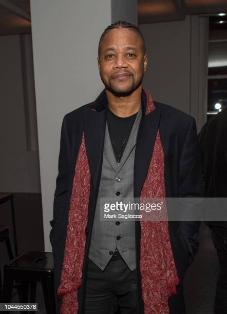 Actor Cuba Gooding Jr attends The Academy Of Motion Picture Arts Sciences 2018 New Members Party at Top of the Rock's 620 Loft Garden on October 1...