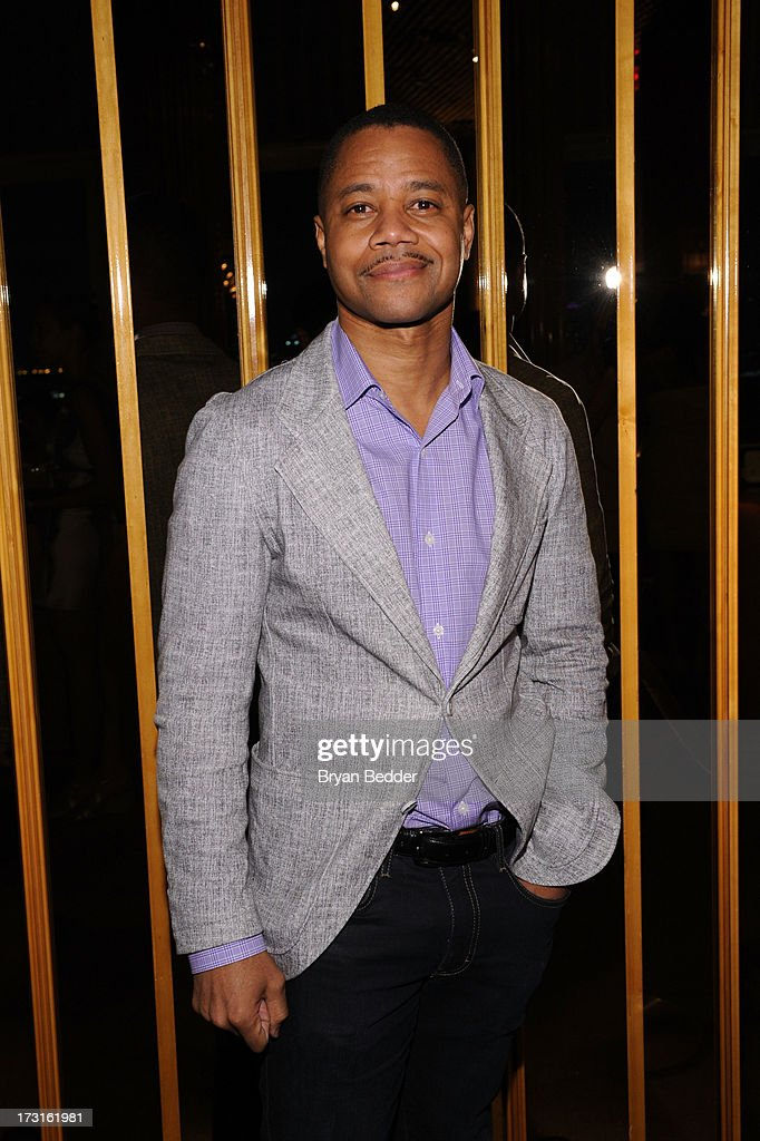 Actor Cuba Gooding Jr. attends the afterparty at the New York premiere of FRUITVALE STATION, hosted by The Weinstein Company, BET Films and CIROC Vodka on July 8, 2013 in New York City.