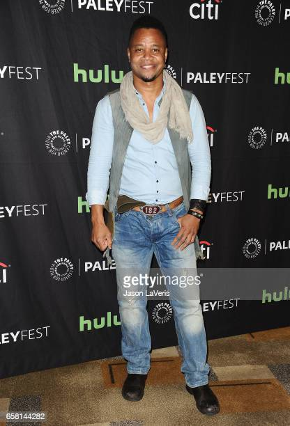 Actor Cuba Gooding Jr attends the 'American Horror Story Roanoke' event at the Paley Center for Media's 34th annual PaleyFest at Dolby Theatre on...
