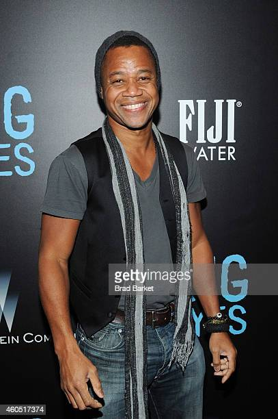 Actor Cuba Gooding Jr attends the Big Eyes New York Premiere at Museum of Modern Art on December 15 2014 in New York City