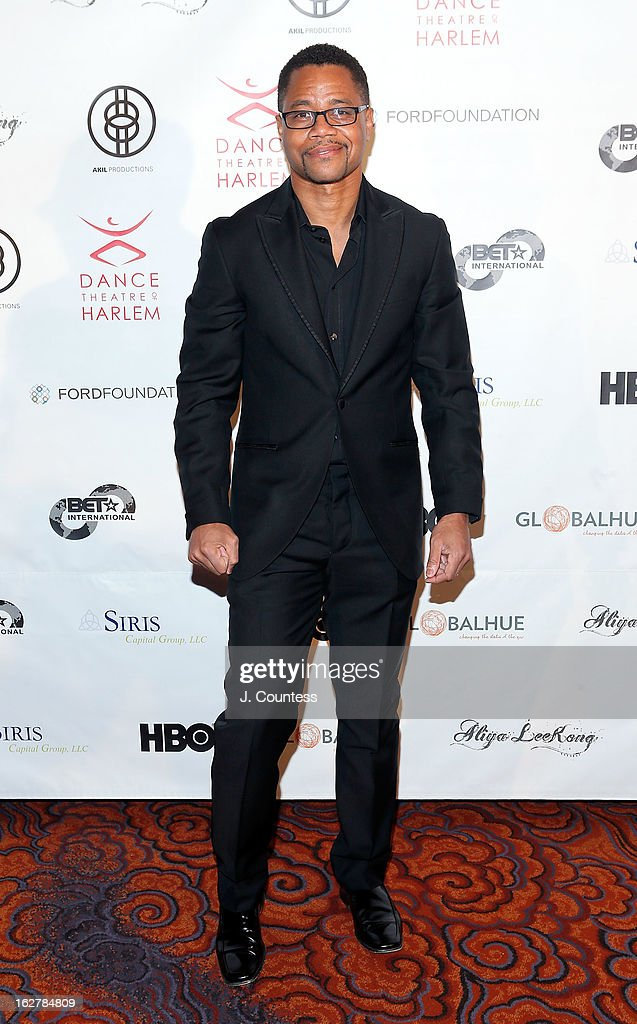 Actor Cuba Gooding Jr. attends the Dance Theatre Of Harlem's 44th Anniversary Celebration at Mandarin Oriental Hotel on February 26, 2013 in New York City.