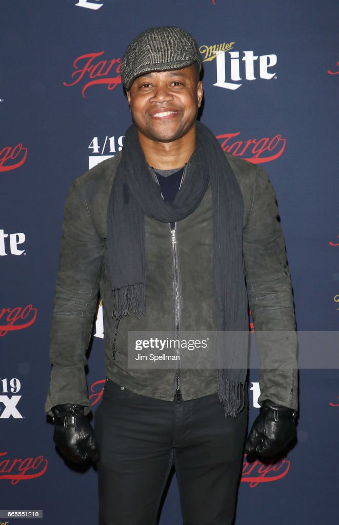 Actor Cuba Gooding Jr. attends the FX Network 2017 All-Star Upfront at SVA Theater on April 6, 2017 in New York City.