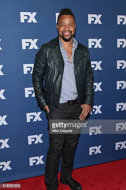 Actor Cuba Gooding Jr attends the FX Networks Upfront screening of The People v OJ Simpson American Crime Story at AMC Empire 25 theater on March 30...