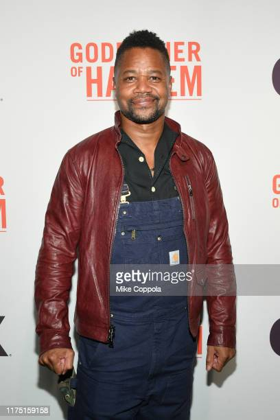 "Actor Cuba Gooding Jr. Attends the ""Godfather Of Harlem"" New York Screening at The Apollo Theater on September 16, 2019 in New York City."