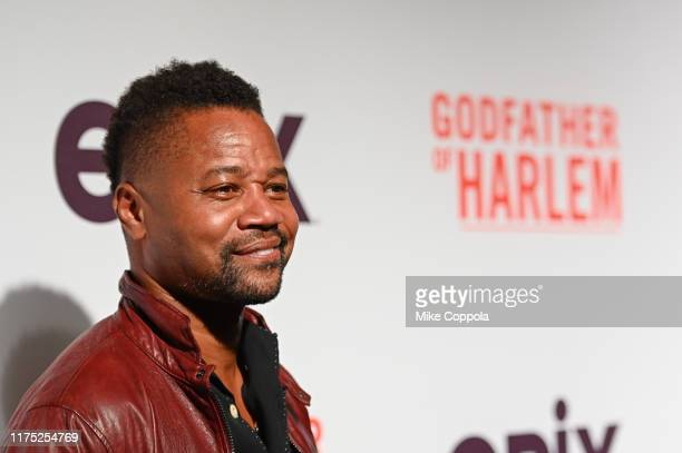 Actor Cuba Gooding Jr attends the Godfather Of Harlem New York Screening at The Apollo Theater on September 16 2019 in New York City