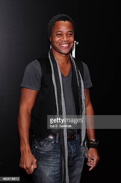 Actor Cuba Gooding Jr attends The New York Premiere Of BIG EYES at Museum of Modern Art on December 15 2014 in New York City