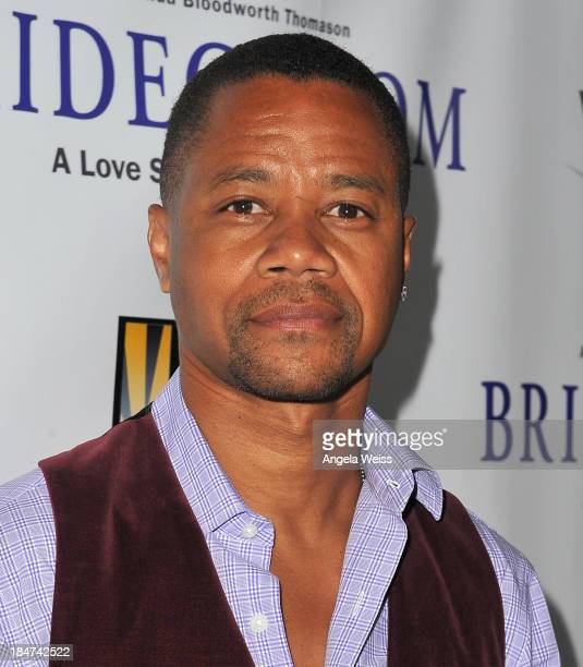 Actor Cuba Gooding Jr attends the premiere of 'Bridegroom' benefiting Love is Louder at AMPAS Samuel Goldwyn Theater on October 15 2013 in Beverly...