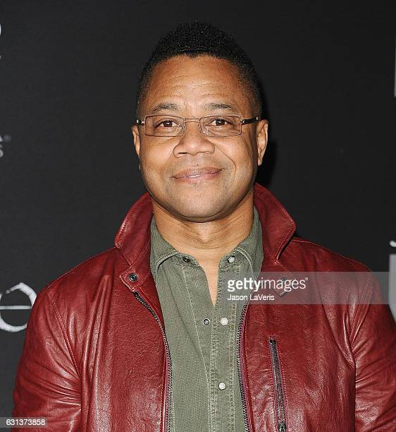 Actor Cuba Gooding Jr attends the premiere of 'Taboo' at DGA Theater on January 9 2017 in Los Angeles California