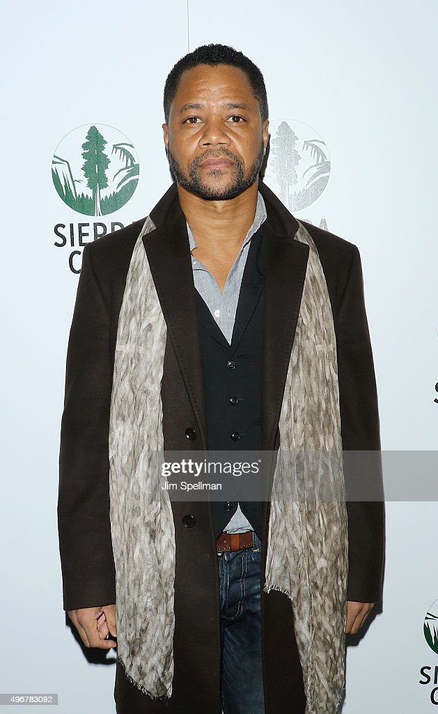 Actor Cuba Gooding Jr. attends the Sierra Club's Act In Paris, a night of comedy and climate action at Heath at the McKittrick Hotel on November 11, 2015 in New York City.