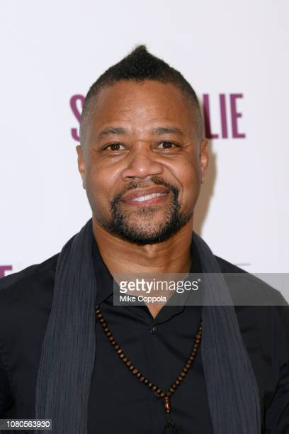 "Actor Cuba Gooding Jr. Attends the ""Stan & Ollie"" New York screening at Elinor Bunin Munroe Film Center on December 10, 2018 in New York City."
