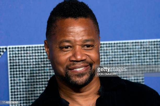 "Actor Cuba Gooding Jr. Attends the US premiere of ""Rocketman"" on May 29, 2019 at Alice Tully Hall in New York."