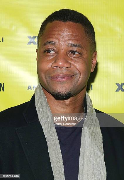 Actor Cuba Gooding Jr attends the VFILES MADE FASHION After Party during MercedesBenz Fashion Week Fall 2015 at Space Ibiza on February 11 2015 in...