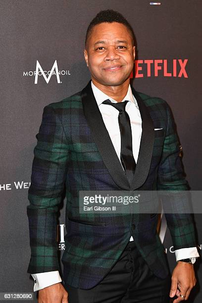 Actor Cuba Gooding Jr attends The Weinstein Company and Netflix Golden Globe Party presented with FIJI Water Grey Goose Vodka Lindt Chocolate and...