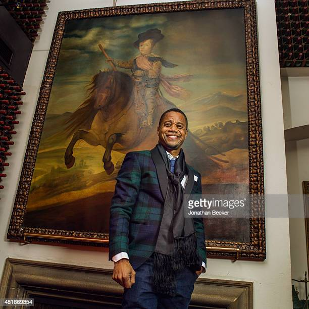Actor Cuba Gooding Jr is photographed at the Charles Finch and Chanel's PreBAFTA on February 7 2015 in London England