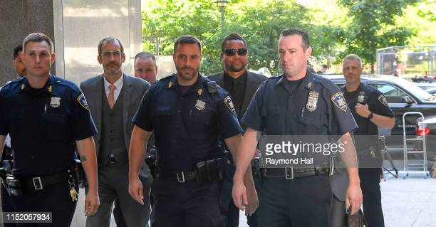 Actor Cuba Gooding Jr is seen outside criminal court where he faces charges related to an alleged groping incident on June 26, 2019 in New York City.